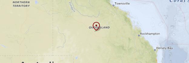 Carte Queensland - Australie