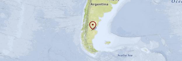 Carte Patagonie argentine - Patagonie