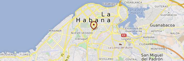 Carte La Havane (La Habana) - Cuba