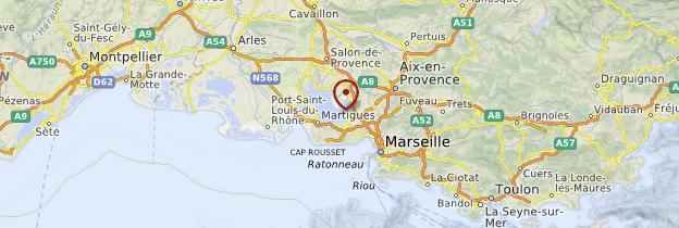 Carte Bouches-du-Rhône - Provence