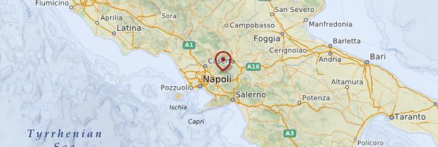 Carte Campanie - Italie