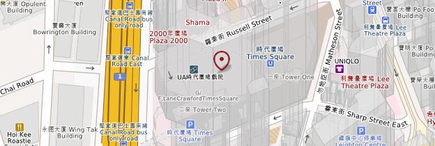 Carte Times Square - Hong Kong