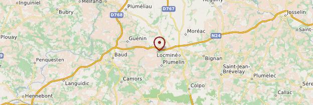 Carte Morbihan - Bretagne