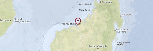 Carte Majunga (Mahajanga) et sa région - Madagascar