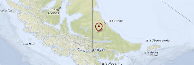 Carte Terre de Feu - Patagonie