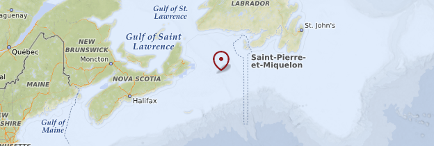 Carte Île-du-Prince-Édouard - Canada