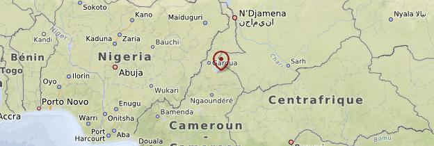 Carte Nord - Cameroun