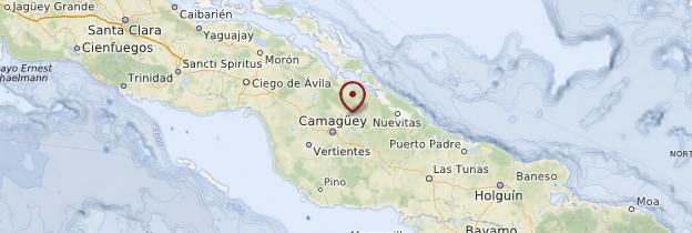 Carte Centre de Cuba - Cuba