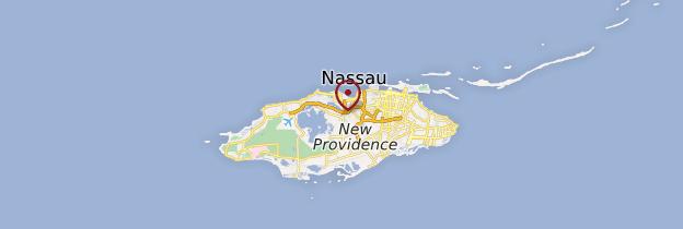 Carte New Providence - Bahamas