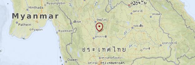 Carte Plaine centrale - Thaïlande