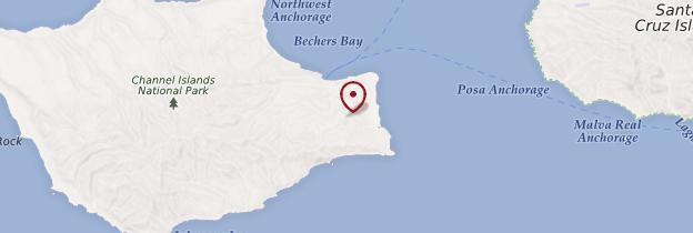 Carte Channel Islands - Californie