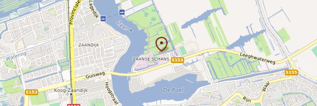 Carte Zaanse Schans - Pays-Bas