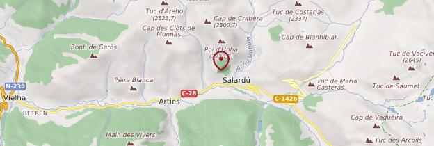 Carte Val d'Aran - Catalogne