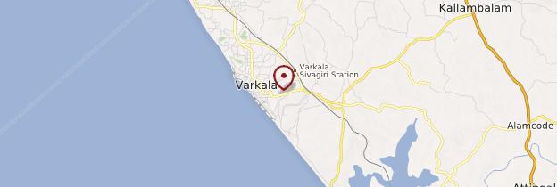 Carte Varkala - Kerala