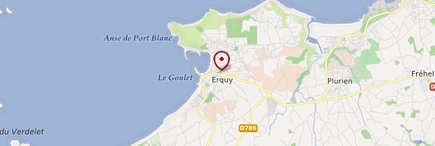 Carte Erquy (Erge-Ar-Mor) - Bretagne