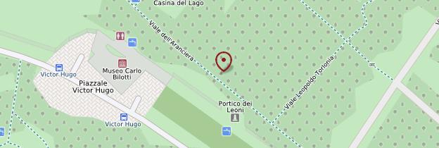 Carte Villa Borghese - Rome