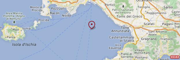 Carte Golfe de Naples - Naples