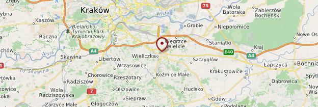 Carte Mines de Wieliczka - Cracovie
