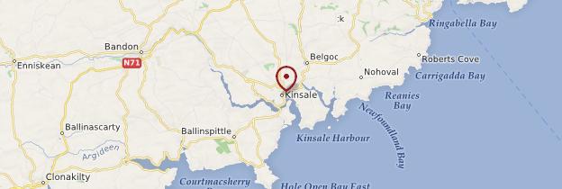 Carte Kinsale (Ceann Tsáile) - Irlande