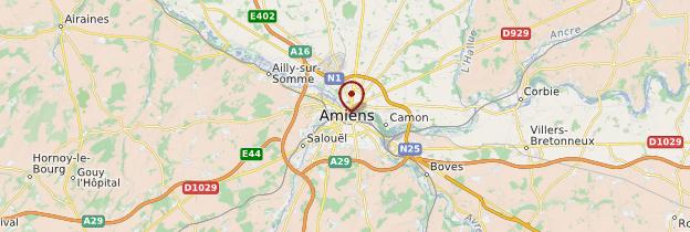 Carte Amiens - Picardie