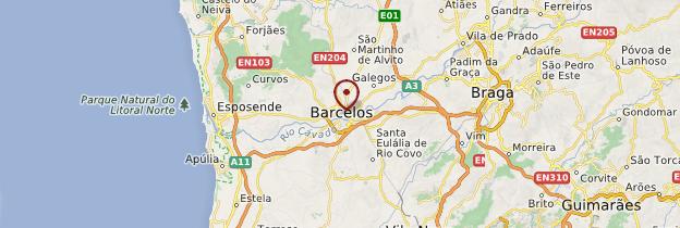 Carte Barcelos - Portugal