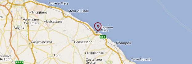 Carte Polignano a Mare - Italie