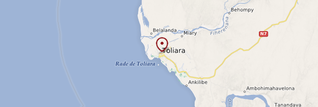 Carte Tuléar (Toliara) - Madagascar