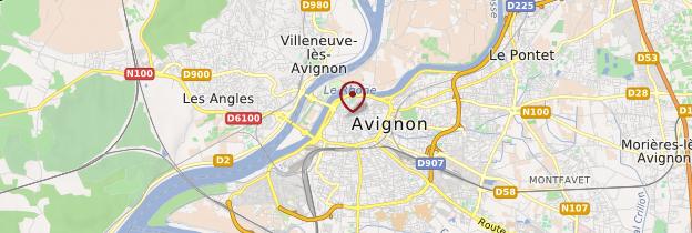 Carte Avignon - Provence