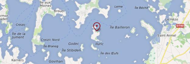 Carte Golfe du Morbihan - Bretagne
