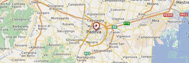 Carte Padova (Padoue) - Italie