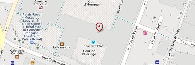 Carte Palais-Royal - Paris