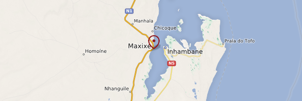 Carte Maxixe - Mozambique