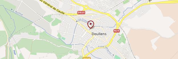 Carte Doullens - Picardie