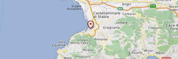 Carte Castellammare di Stabia - Italie