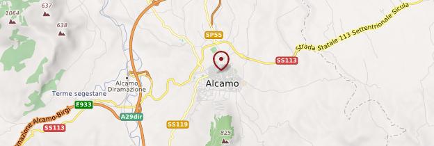 Carte Alcamo - Sicile