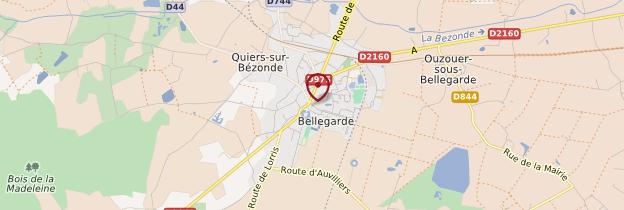 Carte Bellegarde - Châteaux de la Loire