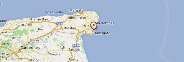 Carte Touristique Kent Angleterre.Ramsgate Kent Guide Et Photos Angleterre Routard Com