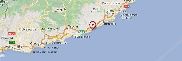 Carte Italie Ligurie.San Lorenzo Al Mare Ligurie Guide Et Photos Italie Routard Com