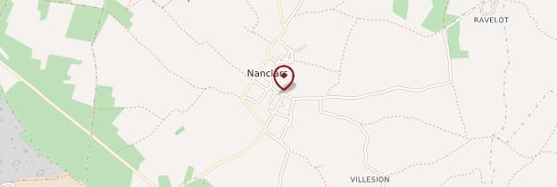 Carte Nanclars - Poitou, Charentes