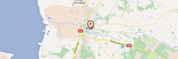 Carte Ribe - Danemark