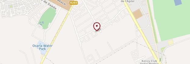 Carte Agdal - Marrakech