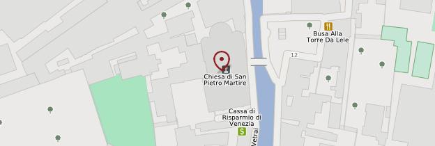 Carte Chiesa di San Pietro Martire - Venise