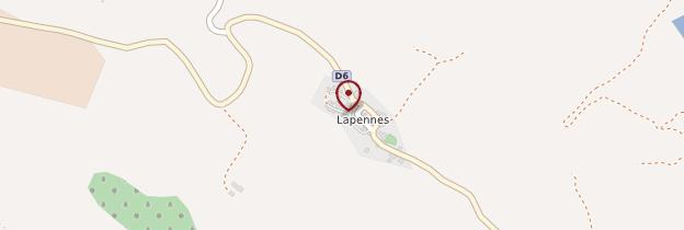 Carte Lapenne - Midi toulousain - Occitanie