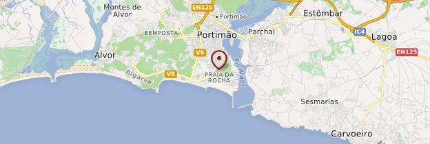 Carte Praia da Rocha - Portugal
