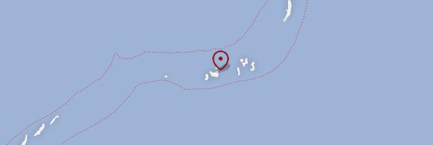 Carte Hakuraa Huraa - Maldives
