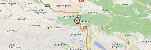 Carte Mtskheta - Géorgie