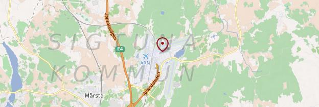 Carte Aéroport de Stockholm-Arlanda - Suède