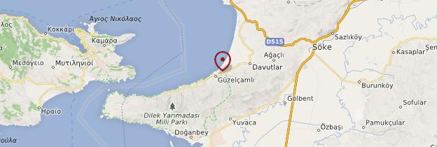 Carte Güzelçamli - Turquie