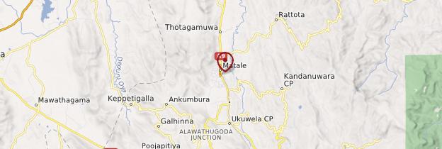 Carte Matale - Sri Lanka