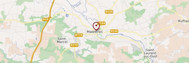 Carte Malestroit - Bretagne